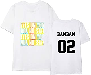 Kpop GOT7 New Album EYES ON YOU Shirt Jackson BamBam T-shirt Tee
