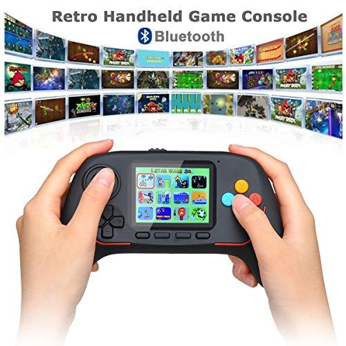 Lychee Console di Gioco Portatile con 788 Gioco Classico, Controller Wireless da Combattimento Online Bluetooth 2.4G,HD Schermo LCD da 2,5 Pollici,Miglior Regalo di Compleanno per Bambini/Adulti