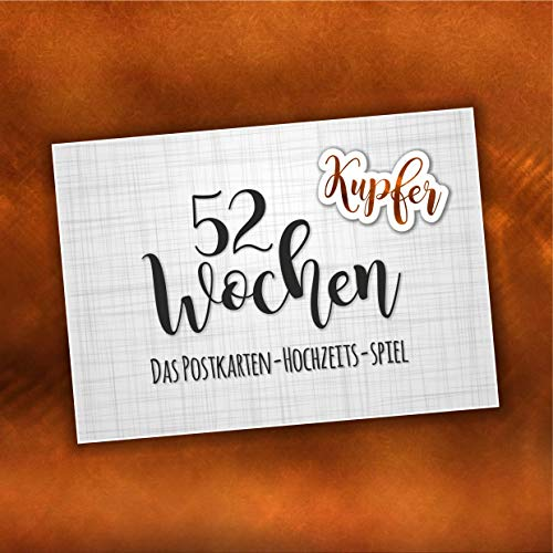 52 tygodnie gry weselnej (papier 300 g) (miedź)