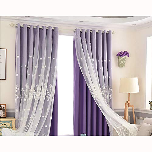 cortinas opacas doble capa