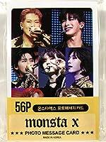 MONSTA X モンスタエックス グッズ / フォト メッセージカード 56枚 (ミニ ポストカード 56枚) セット - Photo Message Card 56pcs (Mini Post Card 56pcs) [TradePlace K-POP 韓国製]