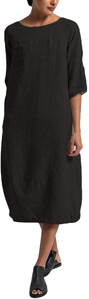 TOPUNDER Plus Size T-Shirt Dresses Women Summer Style Feminino Vestido Cotton Casual Dresses