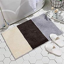 CH 林単純なパターン現代の家庭用滑り止めの台所のための吸収性フロアマットや浴室、サイズ:40x60cm(ピアノ) (Color : Vancouver-1)