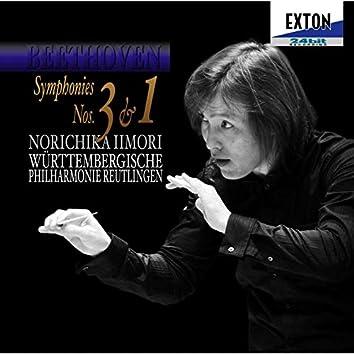 Beethoven: Symphonies Nos.3 & 1
