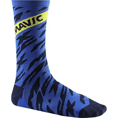 MAVIC Deemax Pro High Fahrrad Socken blau/schwarz 2019: Größe: M (39-42)