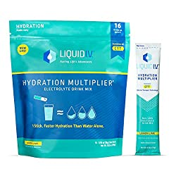 Liquid I.V. Hydration Multiplier, best hydration drink for runners.
