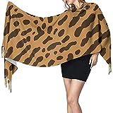 Bufanda de piel de guepardo o ocelote Bufanda de lana suave Chal y abrigo Manta de estola caliente
