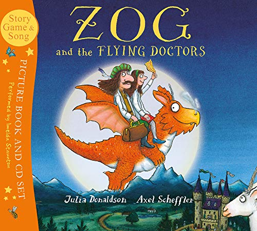 Zog and the Flying Doctors Book and CD (Book & CD)