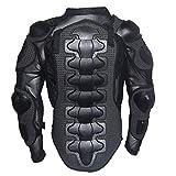 Veste de Protection Moto,Veste Armure Moto Blouson Motard Gilet Protection Équipement de Moto Cross...