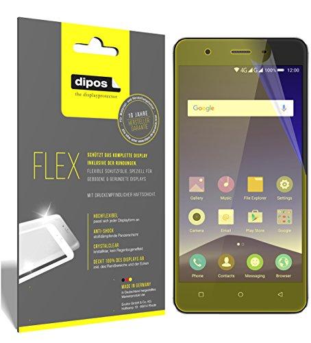 dipos I 3X Schutzfolie 100prozent kompatibel mit Mobistel Cynus F10 Folie (Vollständige Bildschirmabdeckung) Bildschirmschutzfolie