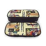 ドラゴンクエスト 大容量 多機能 筆箱 ペン箱 通学 ペンシルケース 通用する のチェーン袋