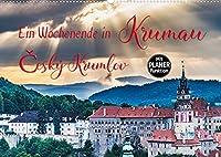 Ein Wochenende in Krumau (Wandkalender 2022 DIN A2 quer): Krumau - Cesky Krumlov erleben (Geburtstagskalender, 14 Seiten )