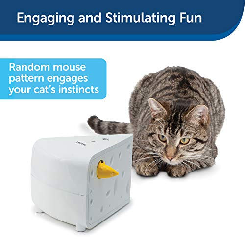 PetSafe FroliCat Portable Cheese Automatic Cat Teaser