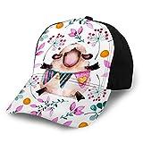 Bikofhd Gorras de béisbol Sombreros Trucos de Bicicleta Snapback con Silhouettefits Hombres Mujeres Niños Niñas