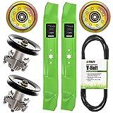 8TEN Deck Blade Spindle Belt Idler Kit for MTD Cub Cadet 490-110-M115 742-04126 742-0616 Troy Bilt Pony Bronco