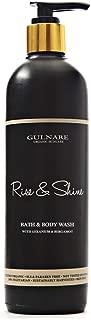 Gulnare Skincare Rise & Shine Body Wash With Sweet Orange, Geranium And Bergamot, 100 ml