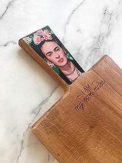 Frida Wood Board, Mother Cutting Board, Frida Cutting Board, Frida Lover Gift, Unique Serving Board, Kitchen Gift, Gift For Mama, Frida Gift