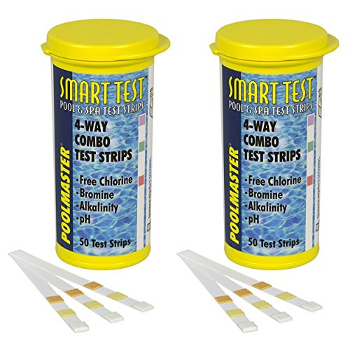 Poolmaster 22211 Smart Test 4-Way Pool and Spa Test Strips - 50ct (2Pack)