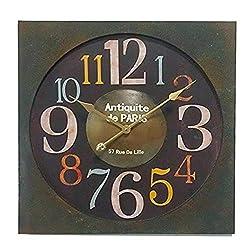 Essential Dcor Entrada Collection Essential Decor Entrada Collection Metal Clock