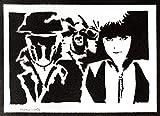 Poster Watchmen Grafiti Hecho a Mano - Handmade Street Art - Artwork