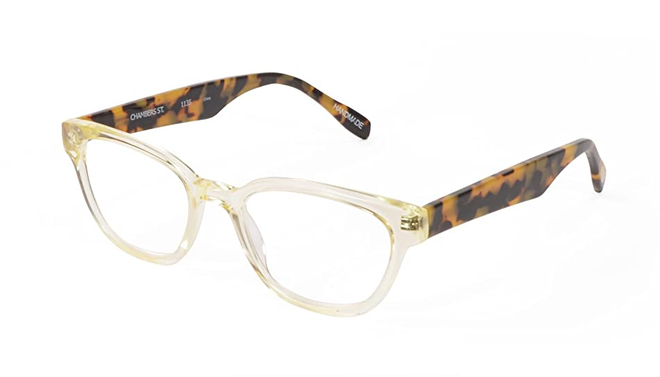 Chambers Street - Rectangular Trendy Fashion Reading Glasses for Men and Women