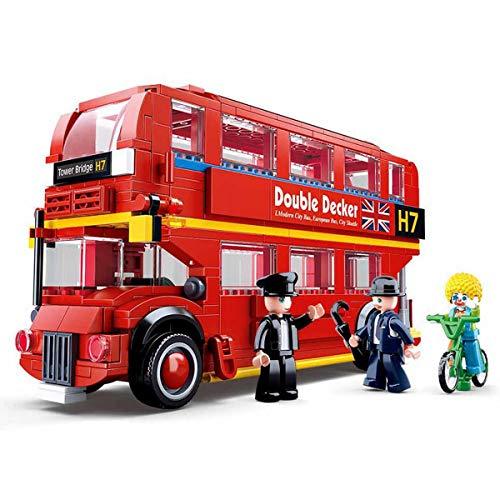 SKAJOWID London Bus Building Blocks, Assembling Toys...