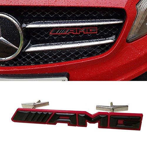Emblema con logo ///AMG nuevo estilo en 3D de Ricoy, en plástico ABS con adhesivo para regalo decorativo en carrocería