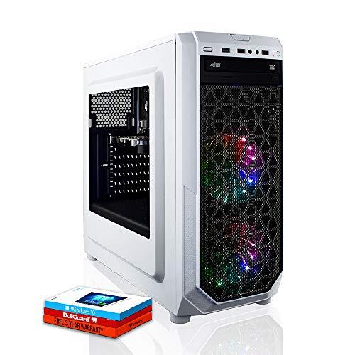 Fierce Terra 16 RGB Gaming PC - Schnell 4GHz Quad-Core AMD Ryzen 3 3200G, 1TB Festplatte, 16GB 3000MHz, AMD Radeon Vega 8 Grafik, Windows 10 installiert 221637