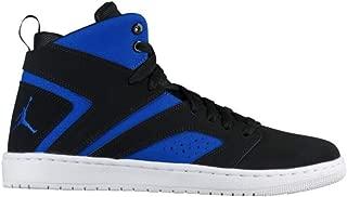 Jordan Flight Legend Men's Basketball Shoes (Black/Black-Hyper Royal-White)