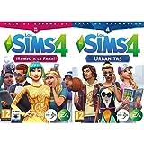 Los Sims 4 Rumbo a la Fama (La caja contiene un código de descarga - Origin) &  Urbanitas (PC)