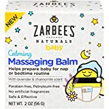 Zarbee's Baby Calming Massaging Balm with Shea Butter, Lavender and Chamomile, 2 Ounce