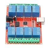 Oumefar 12V Relaissteuerung Schalterrelaismodul für Maschinenausrüstung