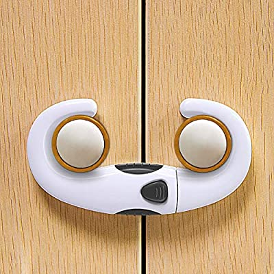 Sliding Cabinet Locks (2-Pack)?Baby Proof Cabin...