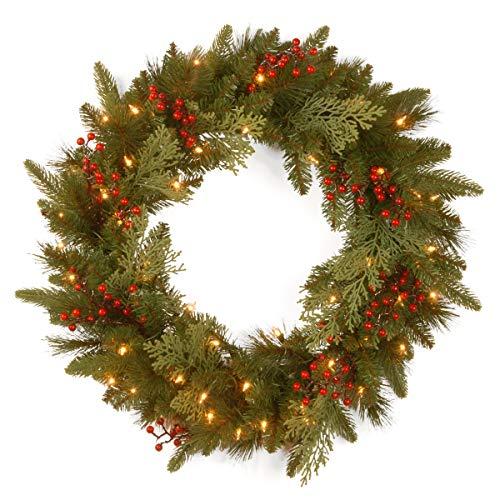 National Tree Company 'Feel Real lit Artificial Christmas...