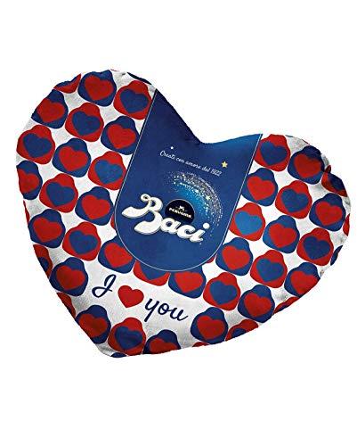 Peluche Herz Baci Perugina 87,5gr -Pralinen mit Schokoladen- und Haselnussfüllung Saint Valentine 150gr
