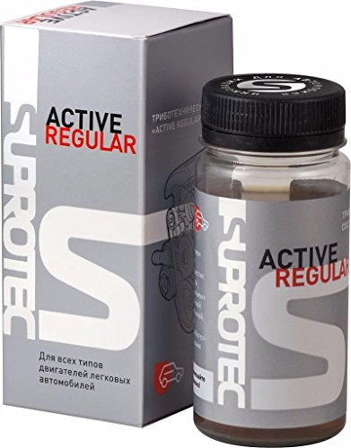 Suprotec Active Regular oil additive for restoration and keep quality all types engines