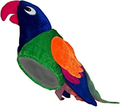 Parrot Tropical Paradise Colorful Macaw Bird Costume Hat