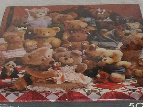 "Springbok ""The Best of Friends"" Teddy Bears Jigsaw Puzzle 500 Pieces"