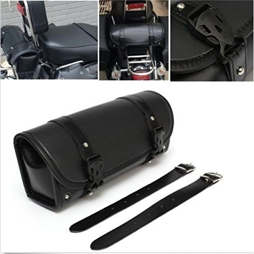 LEAGUE&CO Universal Motorradtasche Satteltasche Gepäcktaschen Werkzeugtasche Rahmentasche Tasche für Harley Davidson Yamaha Honda BMW Suzuki usw. (B)