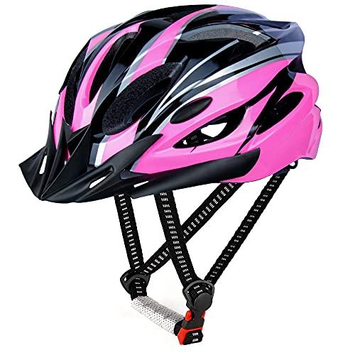 DesignSter Lightweight Helmet Road Bike Cycle Helmet Mens Women for Bike Riding Safety Adult(Fits...