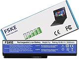 FSKE PA3817U-1BRS PABAS228 Batterie Ordinateur Portable pour Toshiba Satellite L670 L750 C660 C670D C660D L750D L655 L755 L650 C650 A660 A665 L670D C650D Notebook Battery, 10.8V 4400mah 6-Cellules