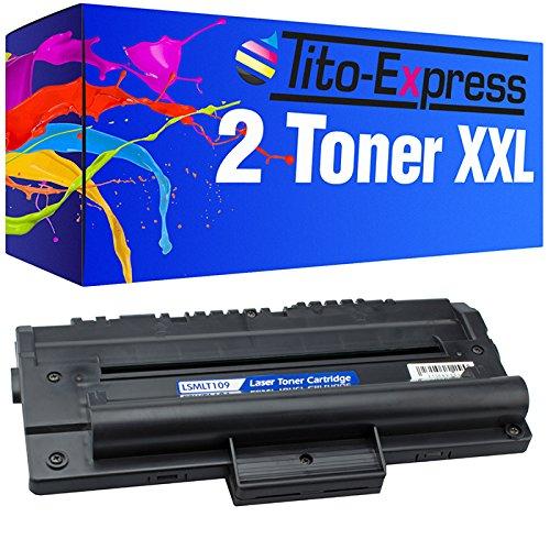 Tito-Express PlatinumSerie 2X Laser-Toner kompatibel mit Samsung SCX-D4200A SCX-4200 SCX-4200 F SCX-4200 R