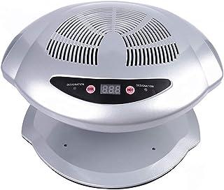 CYYMY Secador de Uñas de Aire Caliente y Frío, Herramienta de Manicura de Ventilador de Secado de Esmalte de Uñas frío y Caliente Ajustable Lámpara de Uñas Profesional