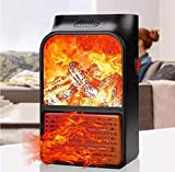 Quace Mini Handy Electric Portable Space Heater with Remote Control Room Heater