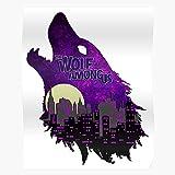 New Wolf York Purple Telltale City Among Us The Impresionantes carteles para la decoracin de la habitacin impresos con la ltima tecnologa moderna sobre papel semibrillante