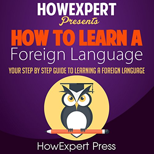 How to Learn a Foreign Language audiobook cover art