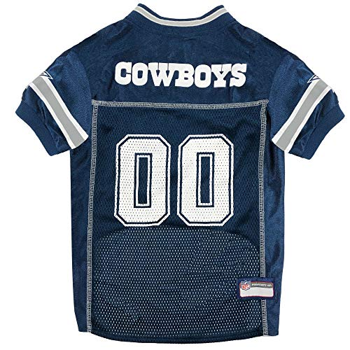 Pets First NFL DALLAS COWBOYS DOG Jersey, Small