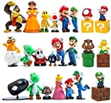 28 Pcs/Set Super Mario Bros Super Mary Princess, Turtle, Mushroom, Orangutan, Super Mary Action Figures, 2' Toy-Party Supplies Birthday Cartoon Figure Decoration