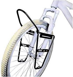 JXS-outdoor Delante del Estante del Pannier - Bicicletas de montaña - Material Acero no es fácil de Rust - V de Freno - Puede Transportar 10 kg