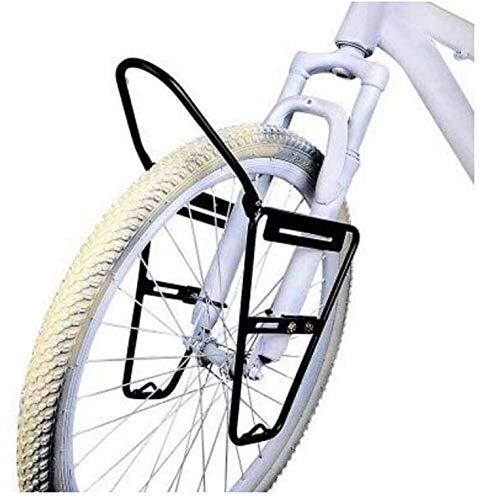 JXS-outdoor Rack-Front Pannier - Mountainbikes - Stahl Material ist Nicht leicht zu Rust - für V Brake - Kann 10KG Carry